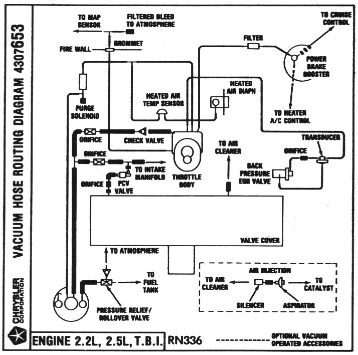 02 chrysler pt cruiser vacuum diagram  chrysler  auto