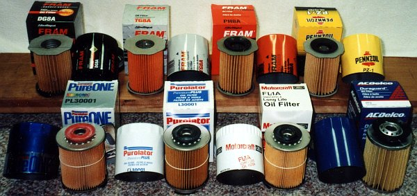 Oil Filter Cross Reference - Mytractorforum.Com - The Friendliest