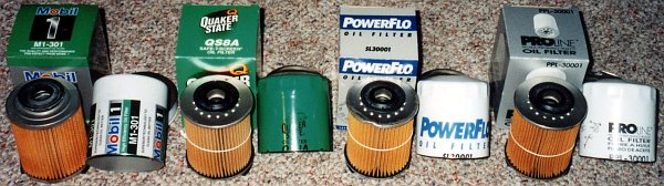 Oil Filter Cross Reference - MyTractorForum com - The